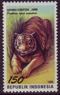 Indonesia-stamp7099tiger